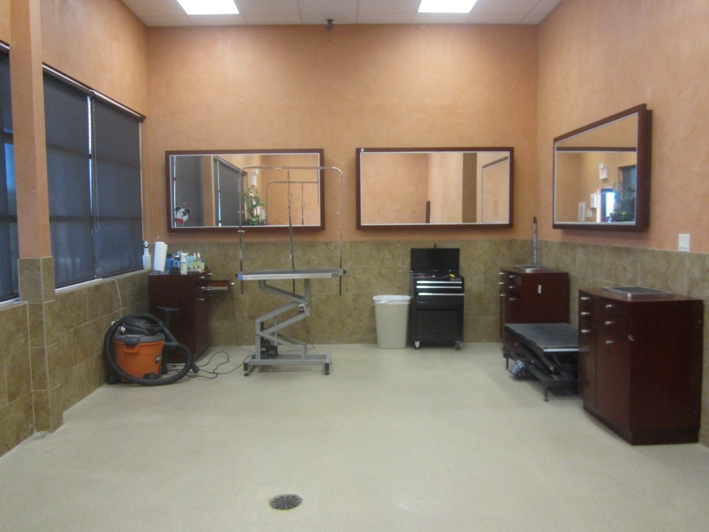 121 Animal Hospital Grooming Room
