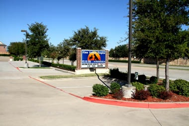Alma Parking Lot Sign